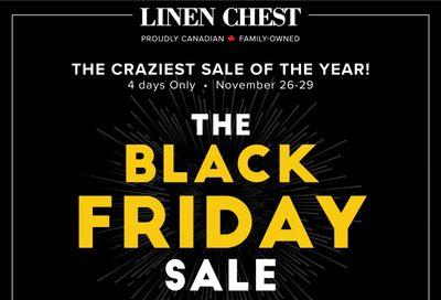 Linen Chest Black Friday Flyer November 26 to 29, 2020