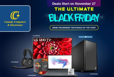 Canada Computers Black Friday Flyer November 27 to December 3, 2020