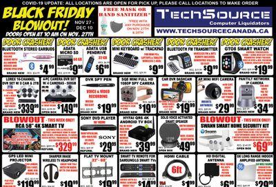 TechSource Black Friday Flyer November 27 to December 10