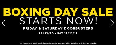 Michaels Canada Boxing Day Sale Starts Today: 2-Days Doorbusters + 55% off Coupon + Buy 1, Get 1 FREE