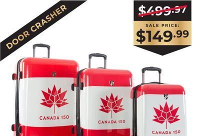 Black Friday Door Crasher - Canada 150 - 3pc. Set On Sale for $ 149.99 at Heys Canada