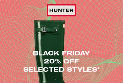 Hunter Boots Canada Black Friday Sale: Save 20% Off + Free Shipping