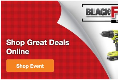 The Home Depot Canada Black Friday 2020 Sale *LIVE* Now