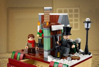 LEGO Canada Black Friday Sale: FREE Charles Dickens Tribute w/ Your Purchase $150 + FREE Holiday Tree w/ Your Purchase $40 + More