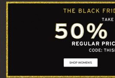 Rockport Canada Black Friday Sale Event: Save 50% OFF Regular Price Styles + Up to 70% OFF Sale