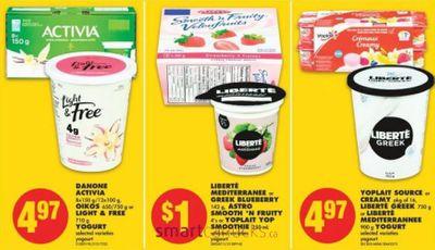 No Frills Ontario: Free Liberte Yogurt After Coupon