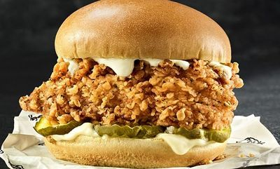 Famous Chicken Chicken Sandwich  at KFC