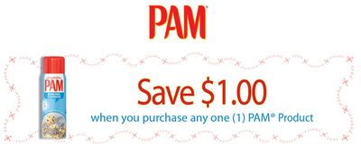 Canadian Coupons: Save $1 On Any Pam Product