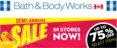 Bath & Body Works Canada Boxing Day & Semi-Annual Sale + Coupon!