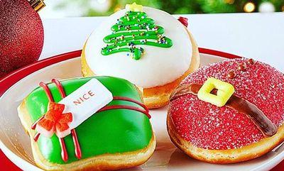 Holiday Doughnuts at Krispy Kreme
