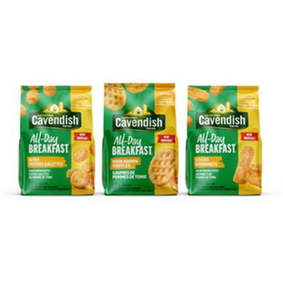 Save $2.00 on All-Day Breakfast when you buy any Cavendish Farms (454g - 750g)
