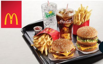 McDonald's Canada New Coupons: Buy One, Get One Free + 2 Can Dine for $7.98 + More Deals