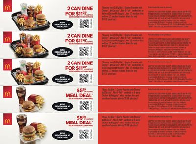 McDonald's Canada Coupons (SK) December 27 to February 2