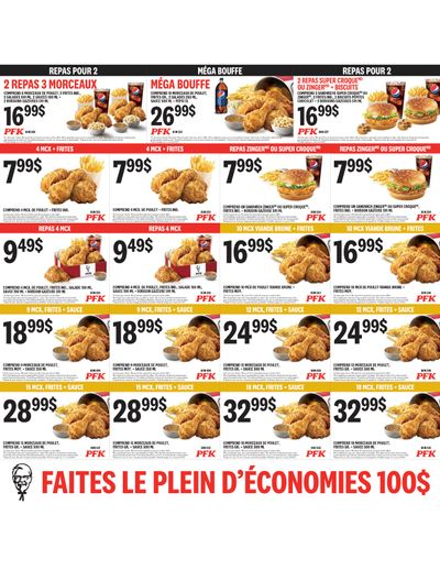 KFC Canada Coupons (QC), until March 1