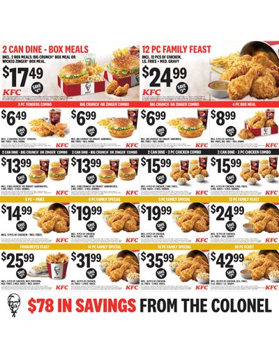 KFC Canada Coupons (SK), until March 1