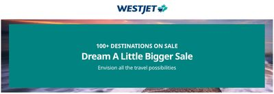 WestJet Canada Boxing Day Tickets/Flights Sale: Today, Save an Extra 15% off with Coupon Code