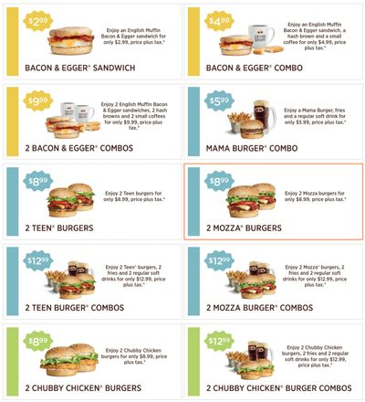 A&W Canada Coupons: Valid Until January 24
