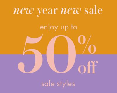 Kate Spade New Year New Sale: Save 50% off Sale Styles, with Coupon Code