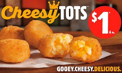 $1 4-pc Cheesy Tots at Burger King