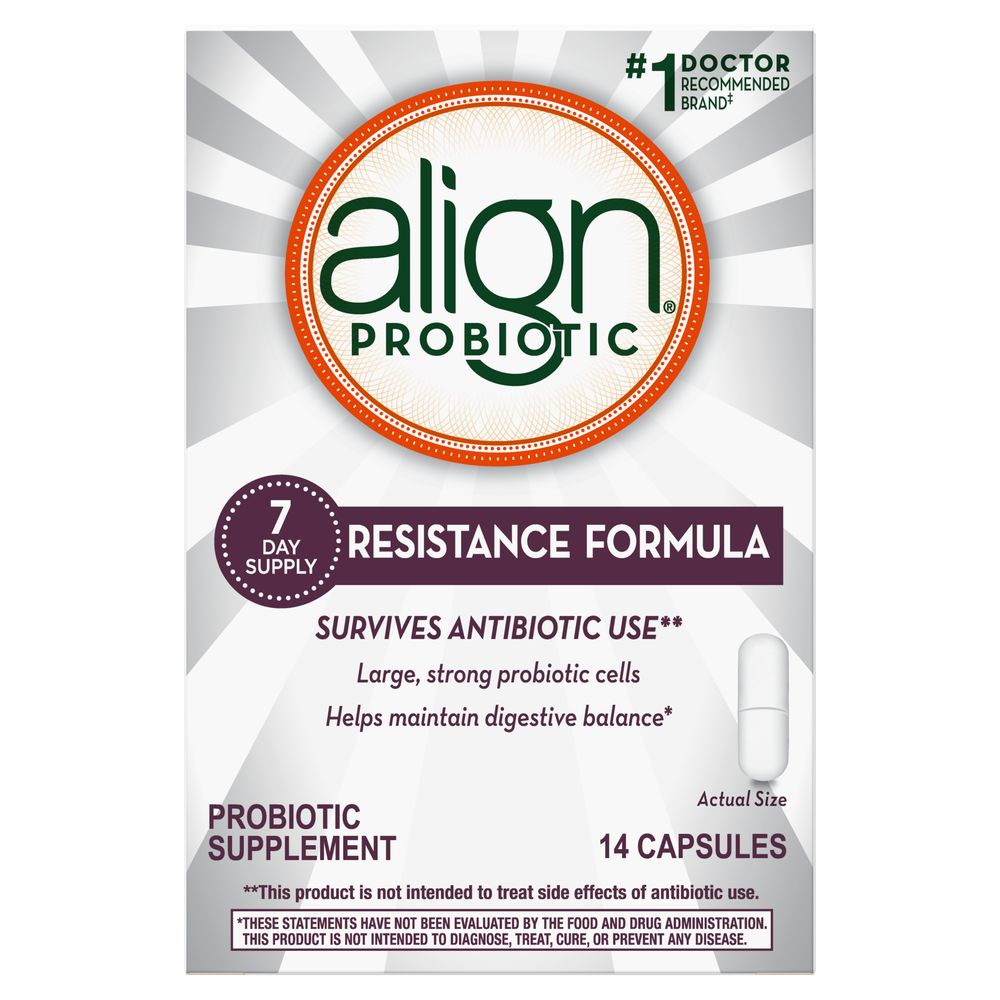Save $2.00 when you buy any ONE Align Antibiotic Support Product (excludes trial/travel size, value/gift/bonus packs)