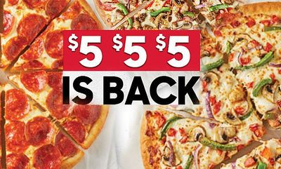 $5-$5-$5 at Pizza Hut
