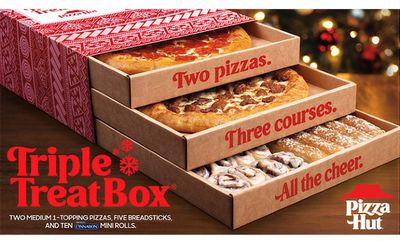 The Triple Treat Box- $34.99* at Pizza Hut