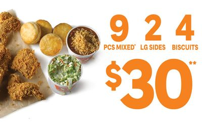 $30 Special at Popeyes