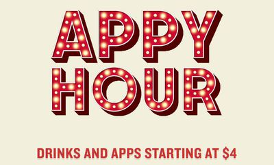 APPY HOUR at Boston Pizza