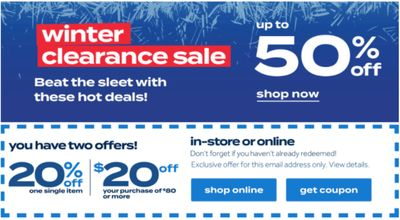 Bed Bath & Beyond Shop Winter Clearance sale! Save up to 50% off Bedding and More + 20% off Coupons