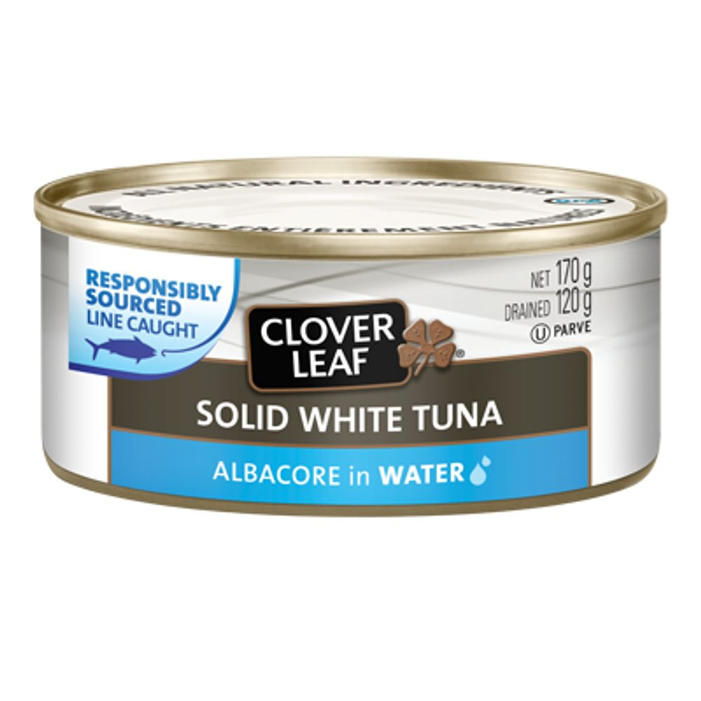 Save $1, Buy 2 on TWO (2) CLOVER LEAF ALL NATURAL White/Albacore Tuna-170g or Yellowfin Tuna-142g in Water