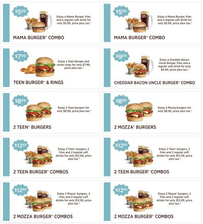 A&W Canada Coupons: Valid Until March 21