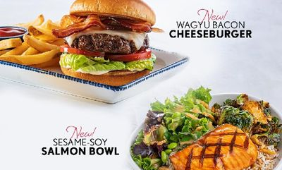 NEW SESAME-Cheeseburger at Red Lobster