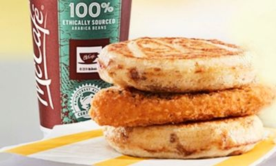 Chicken McGriddles at McDonald's Canada