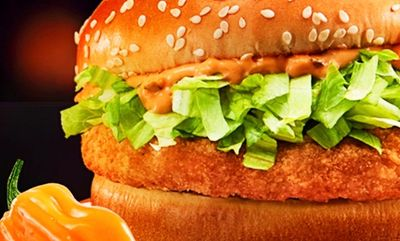 Spicy Habanero McChicken at McDonald's Canada