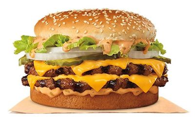 The Big King XL is back! at Burger King