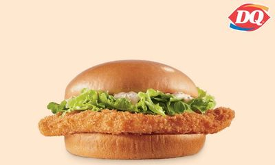 Wild Alaskan Fish Sandwich at Dairy Queen