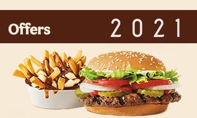 OFFERS 2021 at Burger King