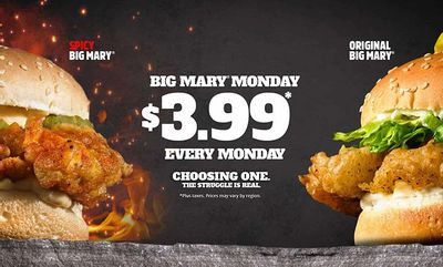 BIG MARY OPTIONS at Mary Brown's