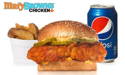 Spicy Big Mary® COMBO at Mary Brown's