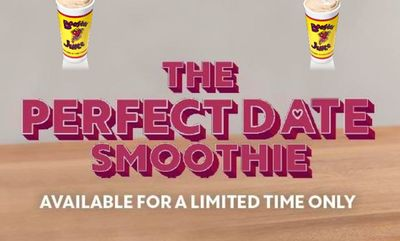 Perfect Date Smoothie at Booster Juice