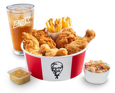 Mighty Bucket For One at KFC