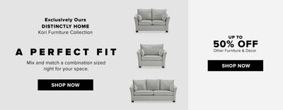 Hudson's Bay Canada Long Weekend Promotions: Save 50% off Furniture & Decor + an Extra 10% – 25% with Coupon Code