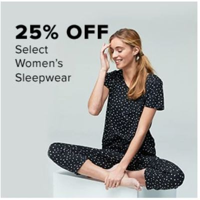 Hudson's Bay Canada Long Weekend Promotions: Save25% off Women's Sleepwear + an Extra 10% – 25% with Coupon Code