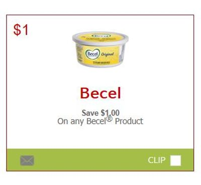 SmartSource Canada Coupons: Save $1 On Any Becel Product!