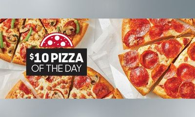 $10 Pizza Of The Day at Pizza Hut