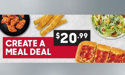 $20.99 Create-A-Meal at Pizza Hut