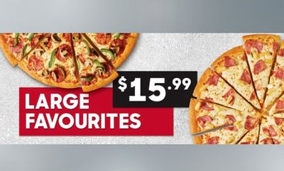 Large Favourites Deal! at Pizza Hut