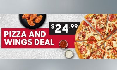 $24.99 Pizza And Wings Deal! at Pizza Hut