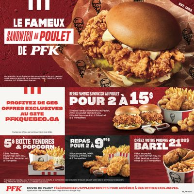 KFC Canada Coupons (QC), until May 9, 2021