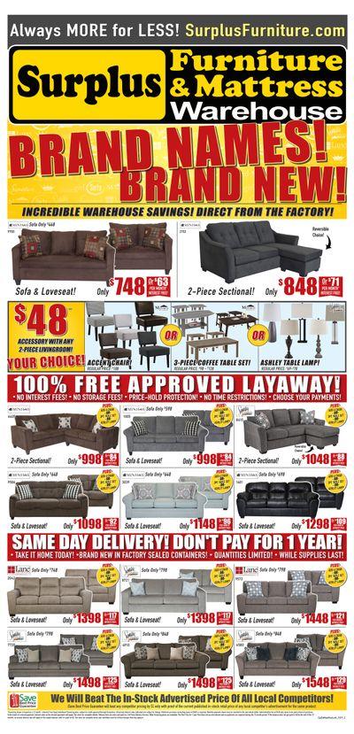 Surplus Furniture And Mattress Warehouse